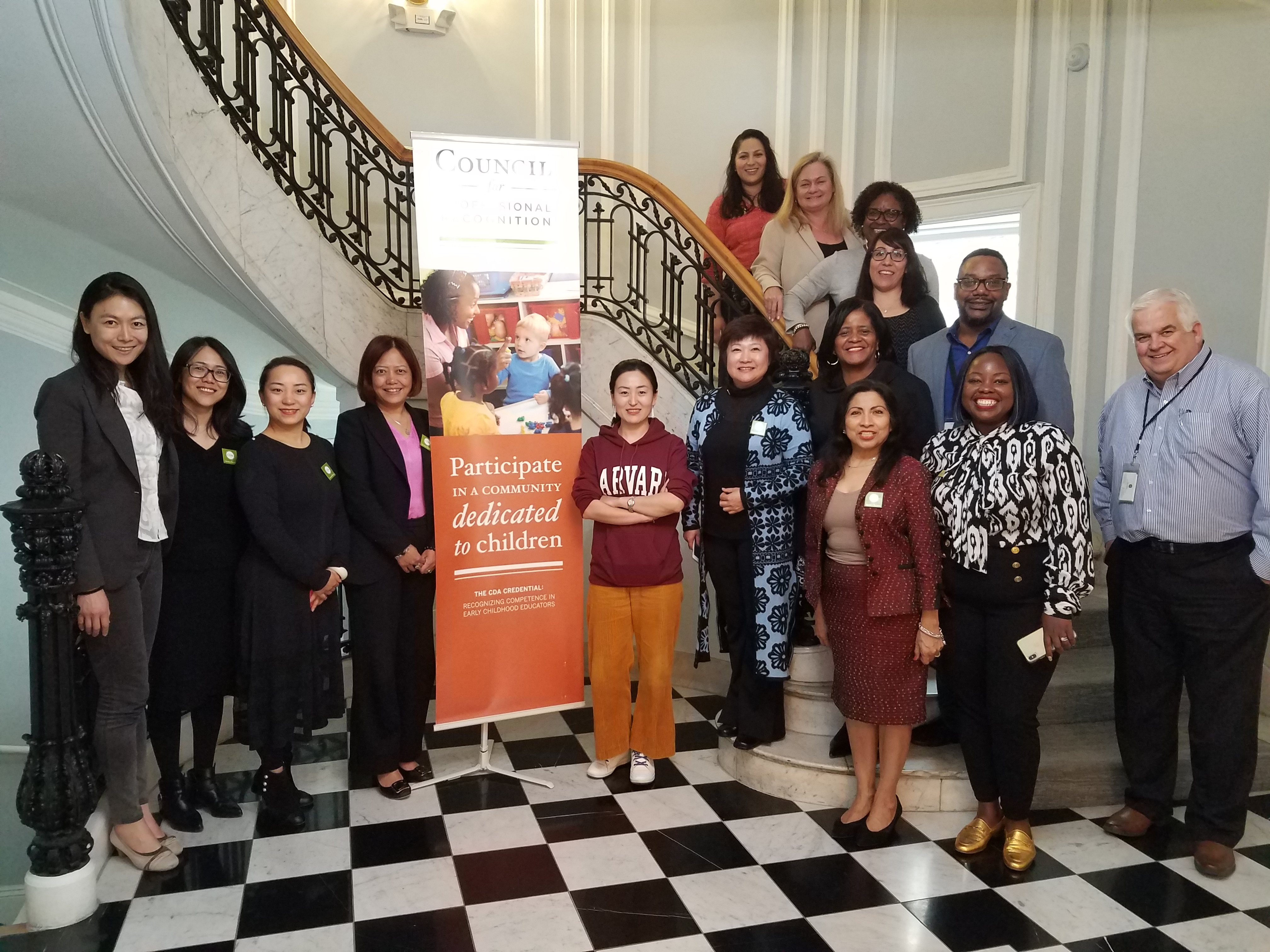 COUNCIL HOSTS DELEGATION OF EDUCATORS FROM CHINA AT DC HEADQUARTERS