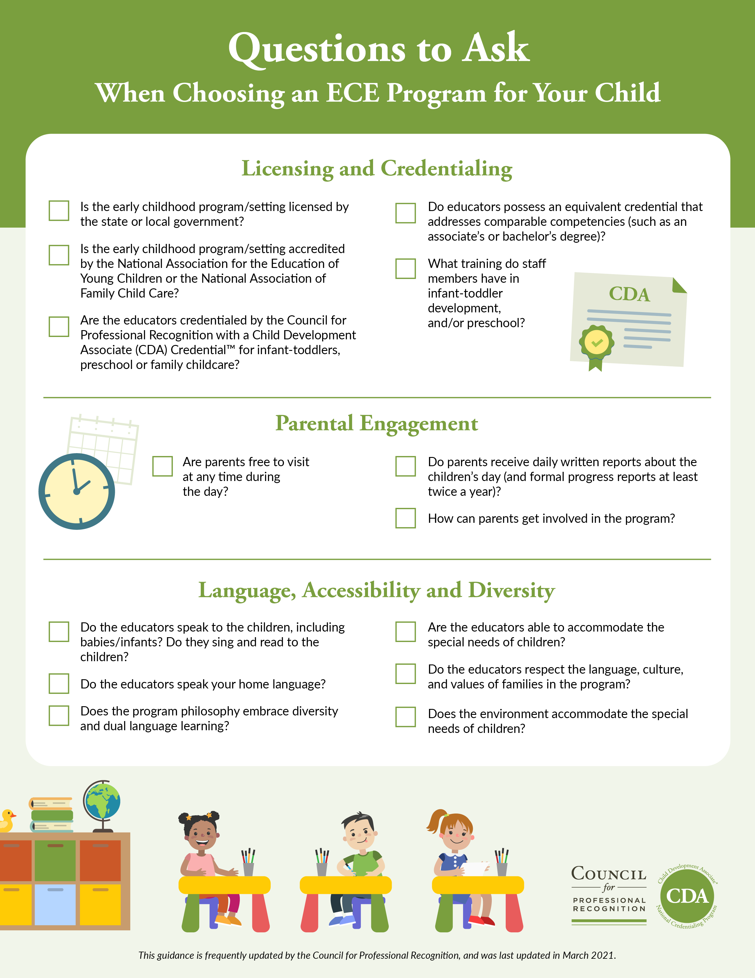 35 Essential Questions to Ask When Choosing an ECE Program for Your Child
